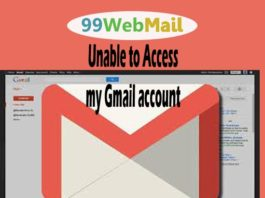 Unable to access my Gmail account | Can't open Gmail