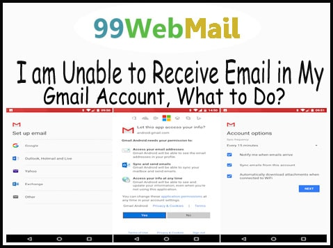 I am Unable to Receive Email in My Gmail Account, What to Do?