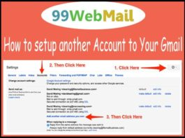 How to setup another Account to Your Gmail