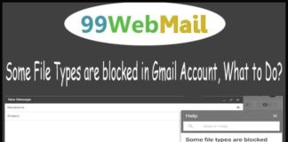 Some File Types are blocked in Gmail Account, What to Do?