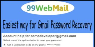 Easiest way for Gmail Password Recovery
