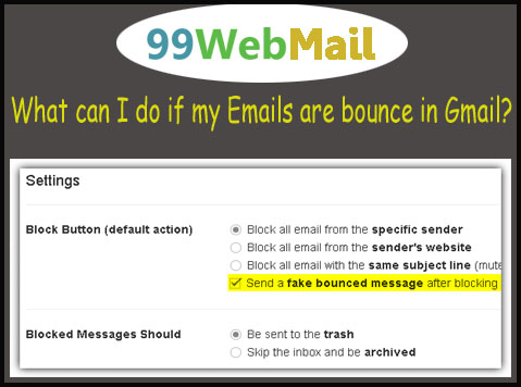 18334105666 What can I do if my Emails are bounce in Gmail? - 99