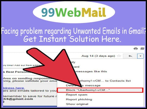 Facing problem regarding Unwanted Emails in Gmail?