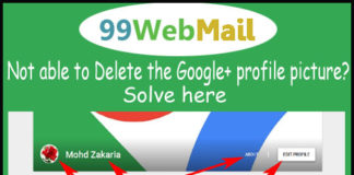 Not able to Delete the Google+ profile picture? Solve here