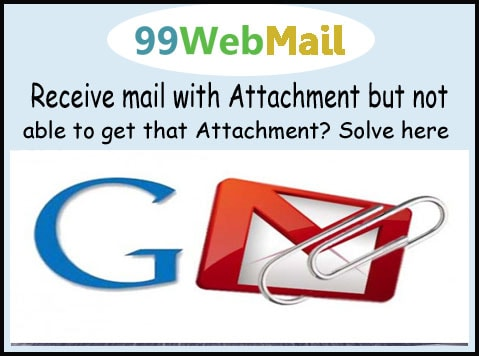 Receive mail with Attachment but not able to get that Attachment? Solve here