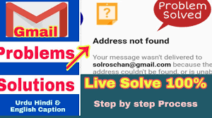 How to Fix Gmail Address not Found Error Easily?